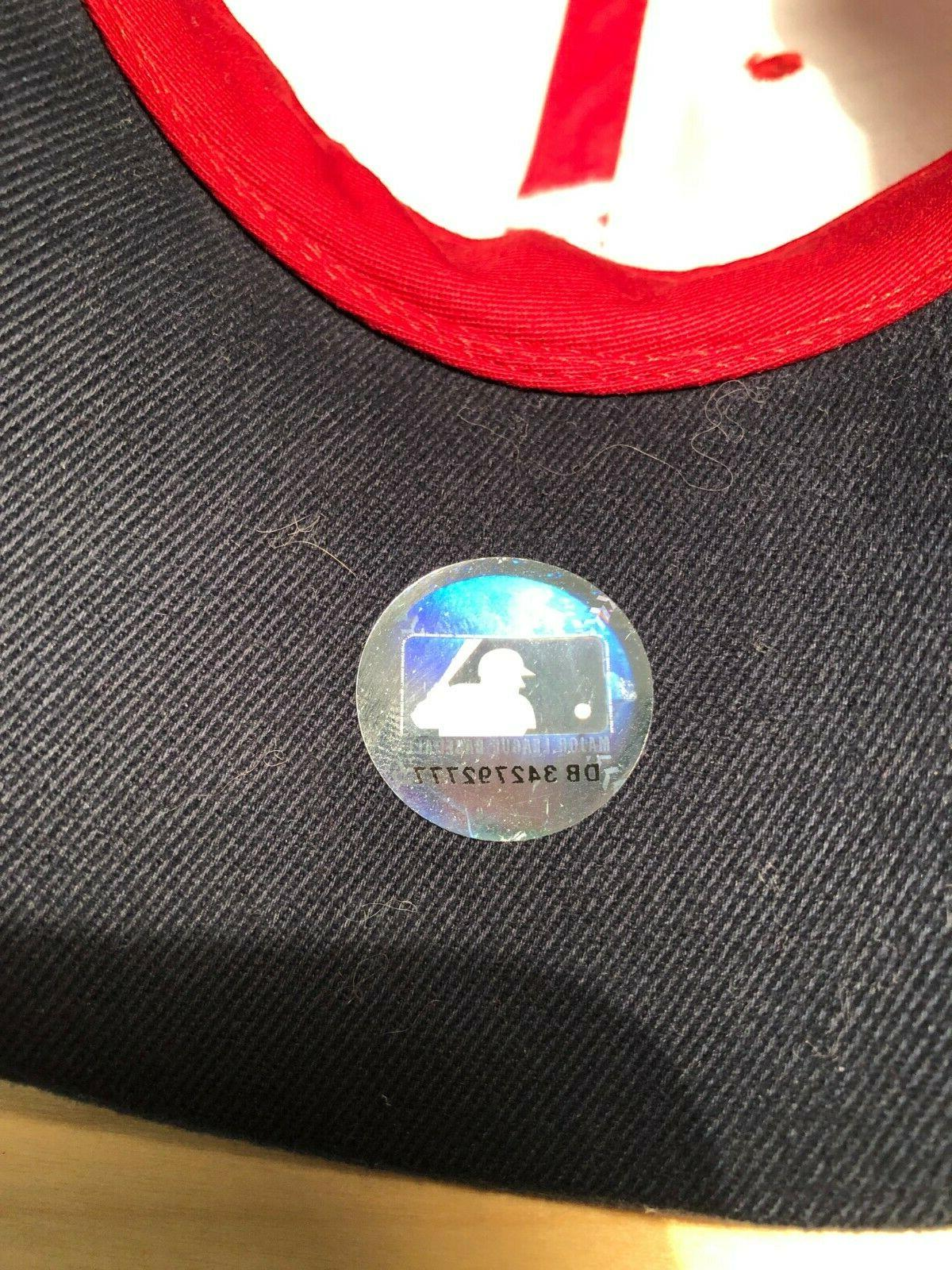 Atlanta Adjustable Cap Red White