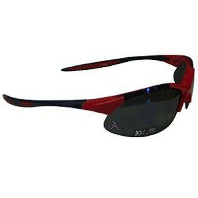 atlanta braves extreme blade sunglasses