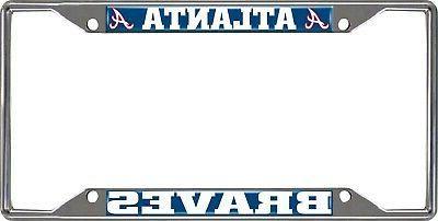 atlanta braves ez view des chrome frame