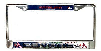 atlanta braves field design lbl chrome frame