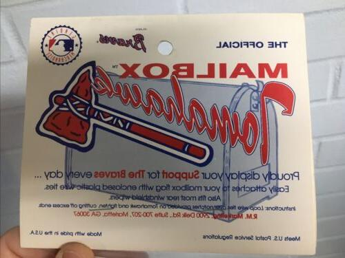 Atlanta Tomahawk Sealed Vintage Baseball