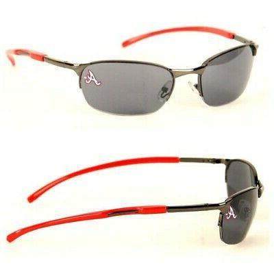 atlanta braves sunglasses metal frame style uv