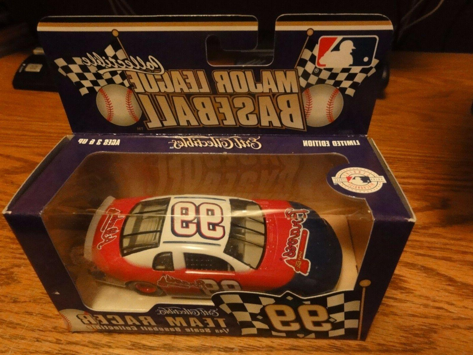 DIECAST TAURUS TEAM RACER ATLANTA BRAVES MLB 1999 LIMITED ED