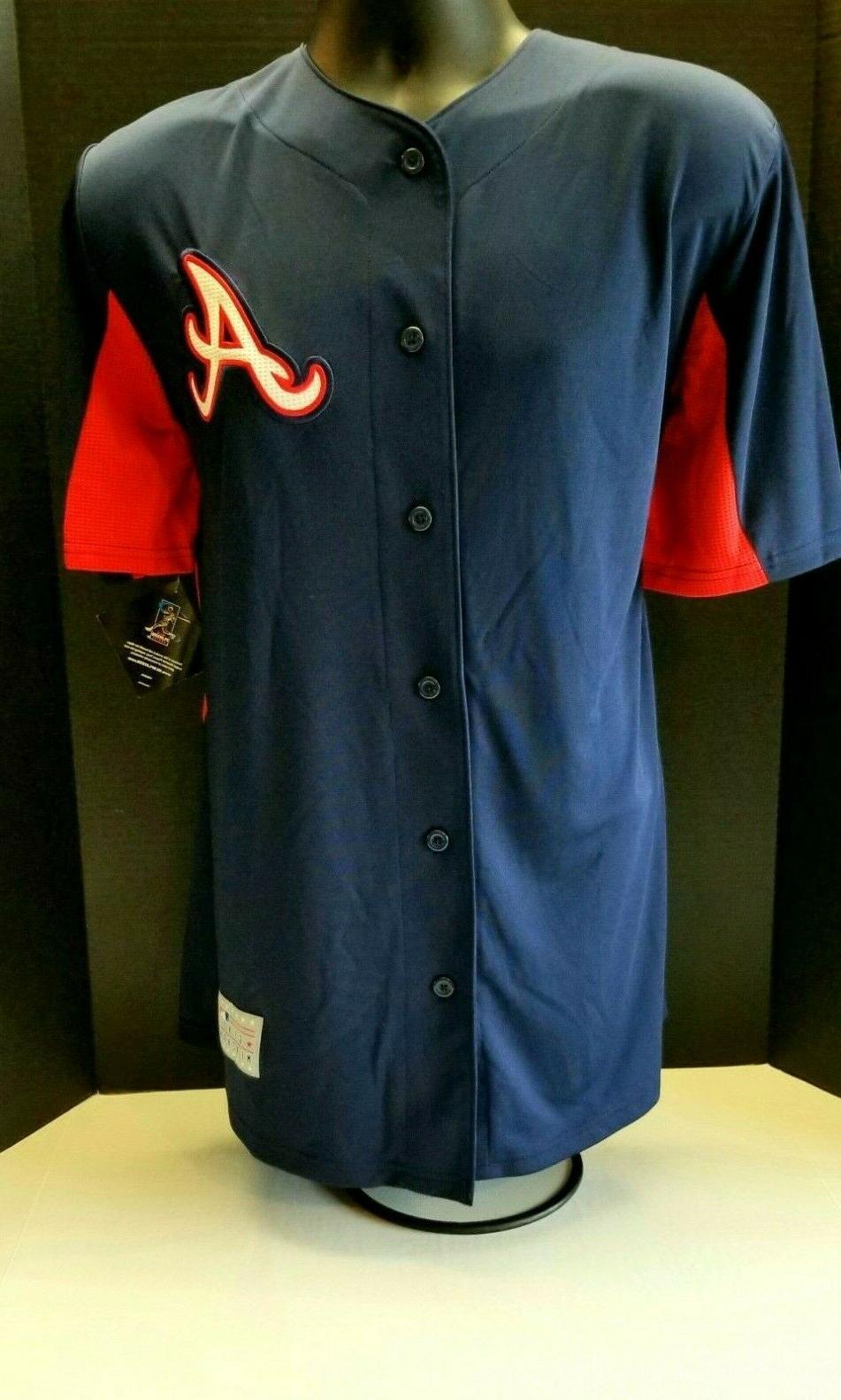 freddie freeman atlanta braves adult stitched jersey