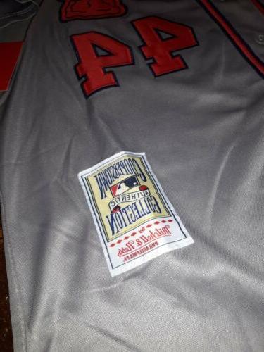 Hank 2XL Atlanta Braves Jersey