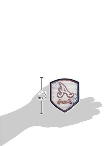 MLB Braves Team Shield Reflector