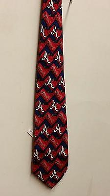 MLB Atlanta Braves Team Neck Tie,  NEW