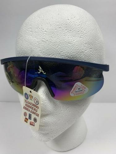 Mlb Braves Sunglasses Poly Carbon Lenses Baseball Glasses New