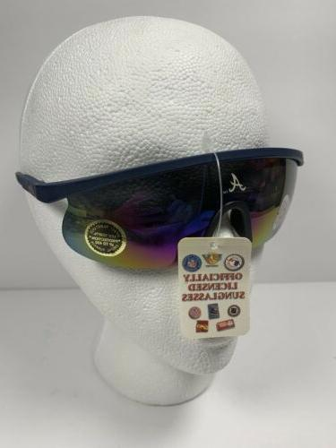 mlb atlanta braves vintage sunglasses poly carbon