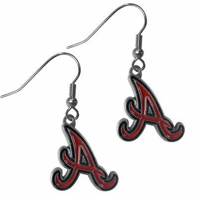 mlb atlanta dangle earrings
