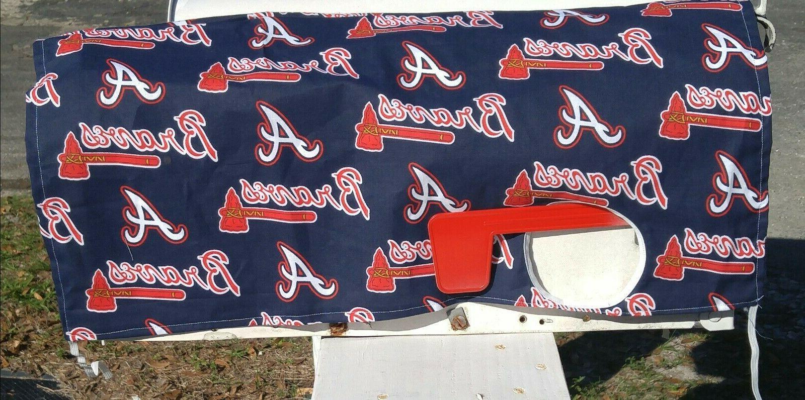 mlb baseball mailbox cover atlanta braves