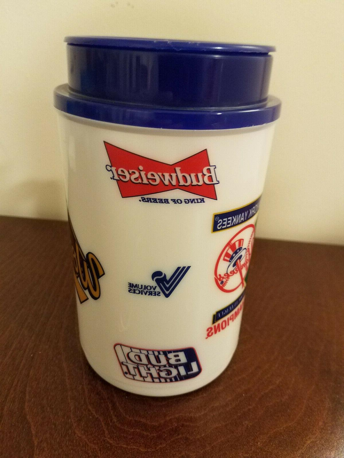 Vintage MLB Series Yankees Collectible Thermos Brand New