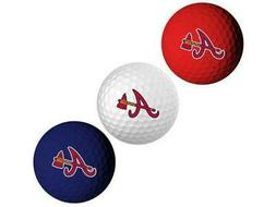 licensed atlanta braves mlb team logo golf