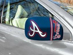 Licensed MLB St. Atlanta Braves Car Mirror Covers  - Trucks/