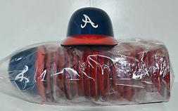 Lot of  ATLANTA BRAVES Ice Cream SUNDAE HELMETS New Baseball