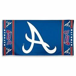 """MLB Atlanta Braves 30"""" x 60"""" Logo Beach/Bath Towel"""