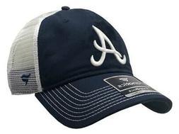 Fanatics MLB Atlanta Braves Baseball Cap Logo Mesh Back Adju