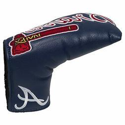 MLB Atlanta Braves Golf Vintage Magnetic Blade Putter Cover