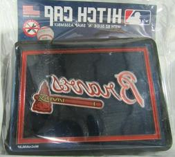 MLB Atlanta Braves Laser Cut Trailer Hitch Cap Cover Univers