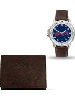 MLB Atlanta Braves Leather Watch/Wallet Set by Rico Industri