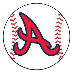 FANMATS MLB Atlanta Braves Nylon Face Baseball Rug