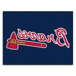 FANMATS MLB Atlanta Braves Nylon Face All-Star Rug