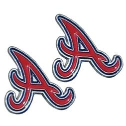 MLB Atlanta Braves Stud Earrings