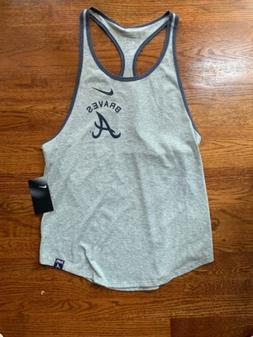 MLB Atlanta Braves Nike Tank Top Shirt Women Size Medium