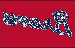 "MLB Baseball ATLANTA BRAVES Fridge Magnet Decor 2.5"" x 3.5"""