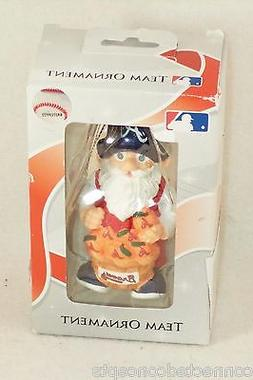MLB Baseball Atlanta Braves Gnome Christmas Ornament  NEW!