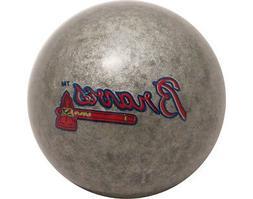MLB Imperial Atlanta Braves Pool Billiard Cue/8 Ball - Silve