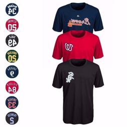 MLB Majestic Name & Number Player Jersey Infant Toddler Yout