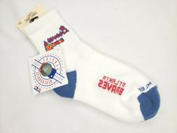 New The Bare Feet Originals Atlanta Braves vintage socks - G
