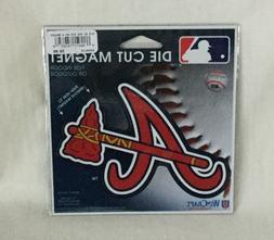 NEW WinCraft Die-Cut Car Magnet - Atlanta Braves Baseball