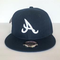 NEW Mens Atlanta Braves Baseball Cap Fitted Hat Multi Size N