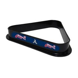 NEW! MLB  Atlanta Braves Billiard Triangle / Pool Ball Rack