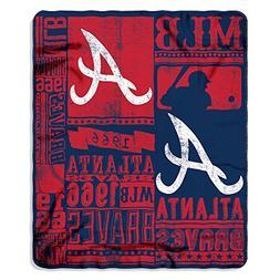 Northwest NOR-1MLB031020002RET 50 x 60 in. Atlanta Braves ML
