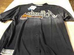 NWT Majestic Cool Base jersey, Atlanta Braves men's L, XL, S