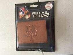 Official MLB Leather Wallet TriFold Embossed Choose Your Tea
