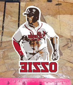 Ozzie Ozhaino Albies Atlanta Braves Fan Sticker Decal Bumper
