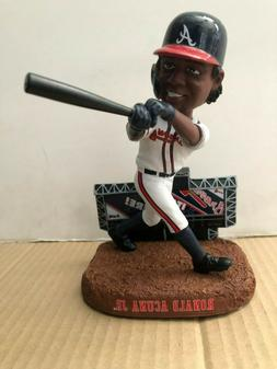Ronald Acuna Jr Atlanta Braves 2020 FOCO MLB Scoreboard Bobb