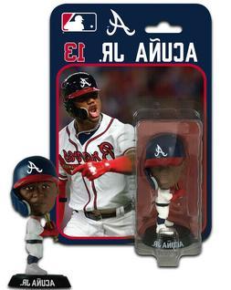 Ronald Acuna Jr Atlanta Braves Imports Dragon Baseball Bobbl