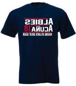 Ronald Acuna Jr Ozzie Albies Atlanta Braves 18 T-Shirt