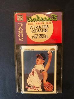 Sealed Unopened Atlanta Braves Team Set 1992 Upper Deck Card