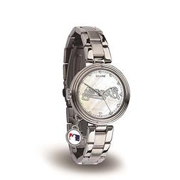 Rico Sparo WTCHA5201 MLB Atlanta Braves Charm Watch