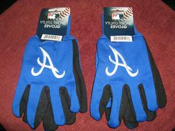 TWO   PAIR OF ATLANTA BRAVES, SPORT UTILITY GLOVES FROM FORE