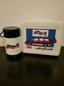 vintage atlanta braves lunchbox with new