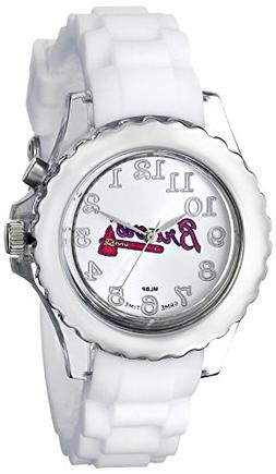 """Game Time Youth MLB-FLW-ATL """"Flash White"""" Atlanta Braves Wat"""